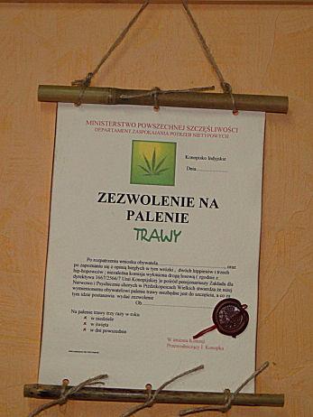 dyplom_bambusowy_zezwolenie_na_palenie_trawy