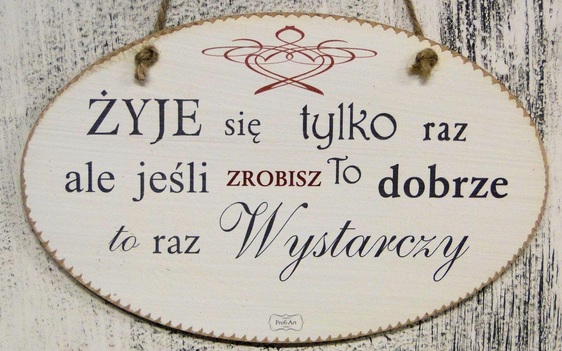 ŻYJE SIE TYLKO RAZ TV721.jpg